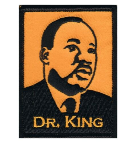 King Patch Martin Luther King Activist Iron on Dave Cherry/'s Dr Jr.