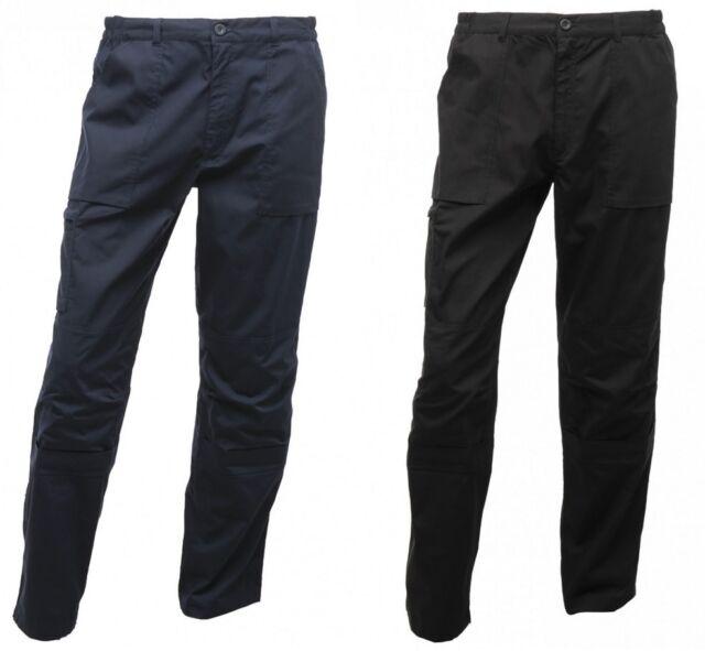 TRJ170 Regatta Men/'s Original Action Trousers Work Wear Pants Water Repellent