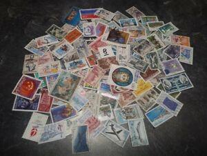 super-lot-de-150-timbres-de-France-differents