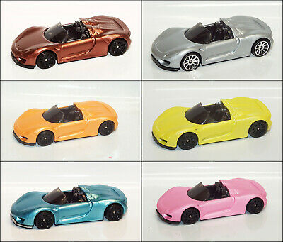 Hot Wheels PORSCHE 918 SPYDER Custom Color Variations
