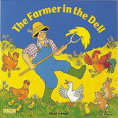 "1 of 1 - ""VERY GOOD"" , The Farmer in the Dell (Classic Books with Holes Board Book), Book"