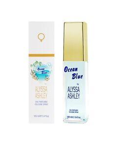 Alyssa-Ashley-OCEAN-BLUE-Eau-Parfumee-Cologne-Spray-100-ml-EdC-Originalverpackt