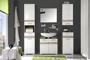 Mobile bagno mobile lavabo specchio bagno effetto legno di rovere