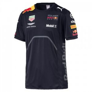 6afd4b046c9f5 Details about Red Bull Racing Puma Team Tee