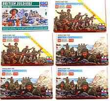 ESCI ERTL 1/72 scale World War Two British Infantry Bundle - 6 mint boxed sets