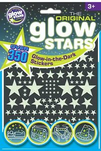 Glow-in-the-Dark-Stars-Stickers-Dinosaures-Formes-Original-Glow-Stars-UK-Vendeur