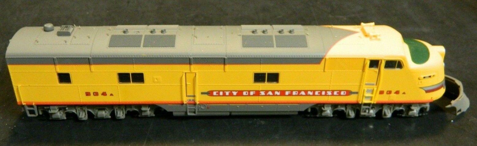Walthers vida como ciudad de San Francisco Projoo 2000 E6 Union Pacific  904A Loco