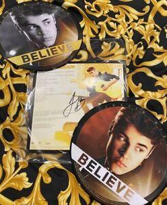 Justin Bieber – Believe, VIP Vinyl, Signed