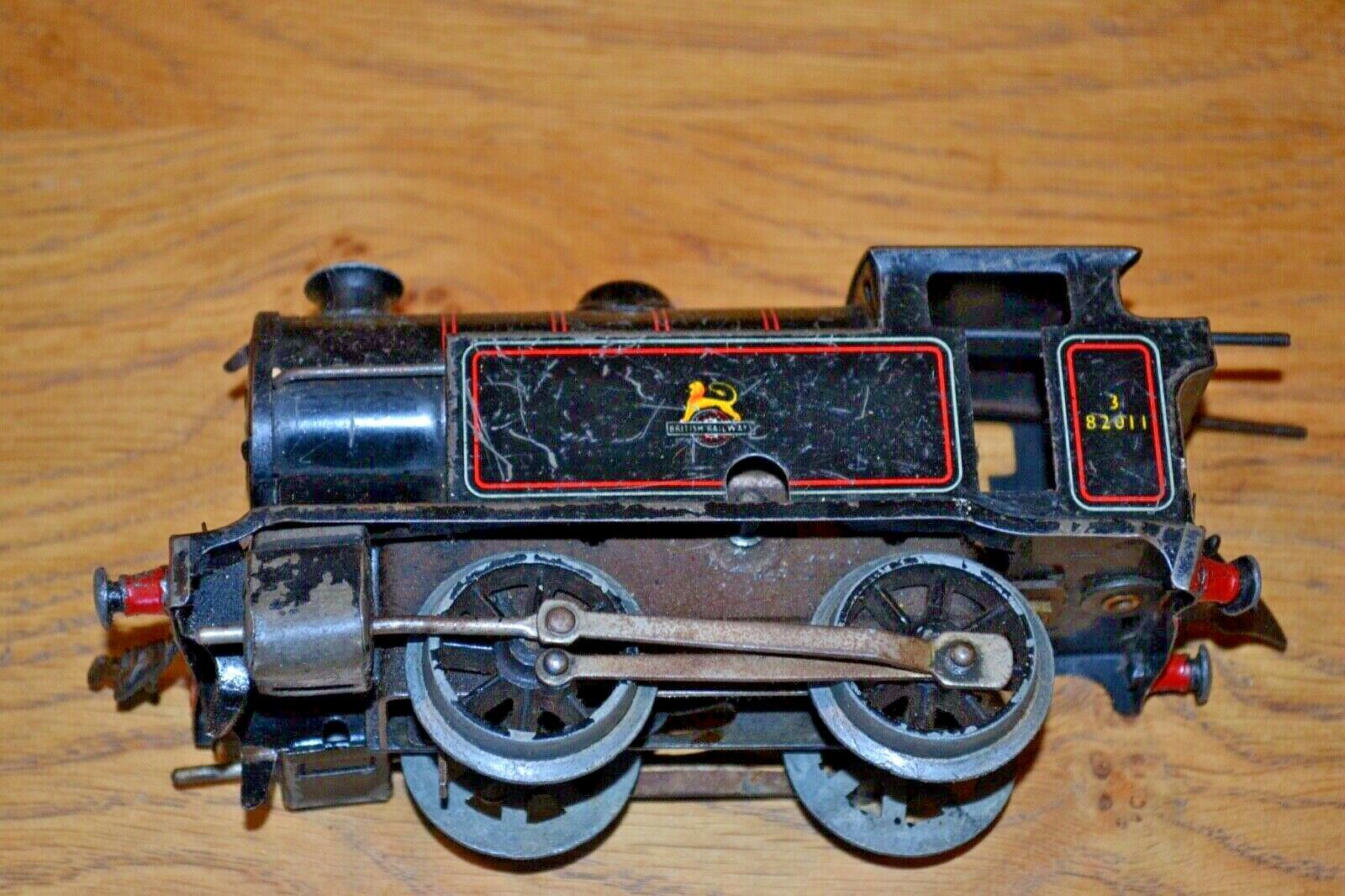 Hornby O Gauge British Railways 82011 0-4-0 Locomotive Clockwork