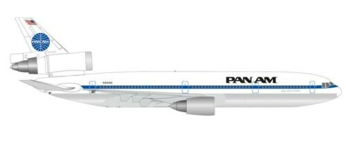 "Herpa 534475-1//500 Pan AM Airways McDonnell Douglas DC-10-30 N84NA ""Glory of t"