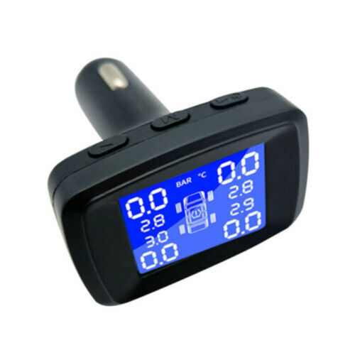 Car TPMS Wireless Tire Pressure Monitoring System LCD With 4 Externa lCA SensoYE