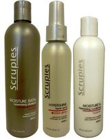 Scruples - Hydrate Moisture Bath Shampoo, Conditioner, And Hypershine Gloss Trio