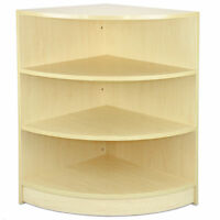 Shop Counter Maple Retail Display Storage Cabinet Pos Shelves Till Block Lm60
