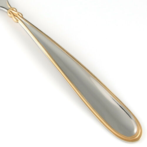 Mikasa ROMANCING GOLD Stainless Golden Accent Glossy Silverware CHOICE Flatware