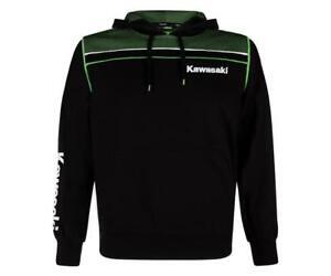 Kleidung & Accessoires Energisch Kawasaki Herren Hoody Sweater Pullover Kapuzenshirt Sports Neu Von Bikerworld üBerlegene Leistung