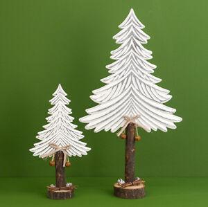 Weihnachtsdeko Baum Holz.Details Zu Tanne Baum Holz Weiß Natur 47 Cm 961289 Weihnachtsdeko