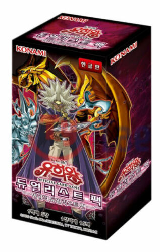 "dualist of light and dark/"" 15 Pack Korean Ver Yugioh Cards /""Duelist Pack"