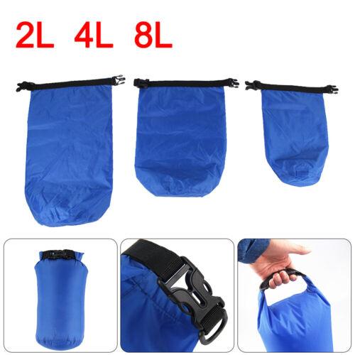 2//4//8L 3X Waterproof Dry Bag Sack Ocean Pack Floating Boating Kayaking Camping