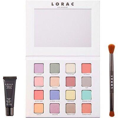 LORAC I Love Brunch PRO Palette Eyeshadow Eye Shadow Primer Brush