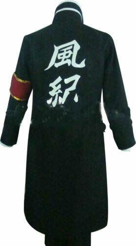 Whcosplay Cosplay Costume for Hitman Reborn Hibari Kyoya