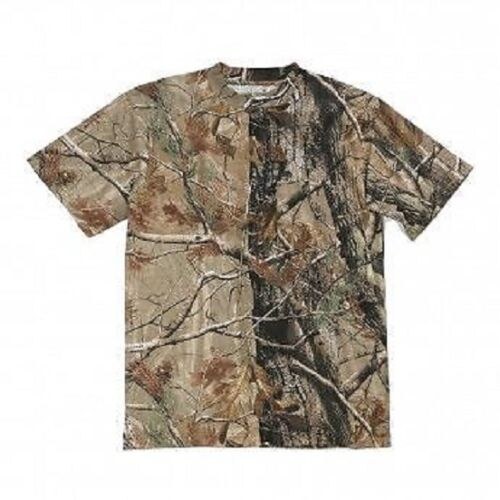 WRANGLER Mens CAMO T-Shirt M TWILL Short Sleeve NWTs Realtree Xtra