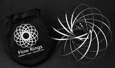 ToroFlux Slinky Spring Metal Toy Flowtoys Flow Ring Kinetic Geoflux, Fidget Toy