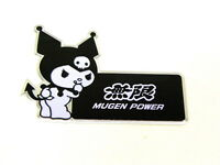 X1 Honda Acura Kuromi Devil Hello Kitty Emblem Japan Rare Jdm