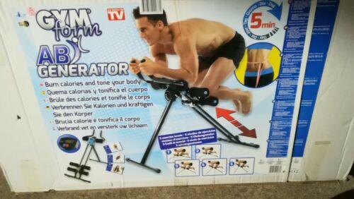 Heimtrainer Gym Form AB Generator