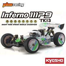 KYOSHO Inferno MP9 TKI3 readyset 1/8 RC Nitro 4x4 2.4Ghz RTR Buggy 31889T1