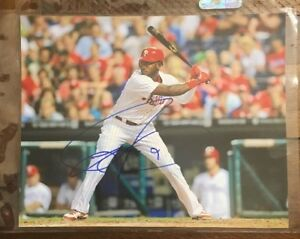 Domonic-Brown-AUTOGRAPHED-SIGNED-AUTO-BASEBALL-PHOTO-PHILLIES-8x10