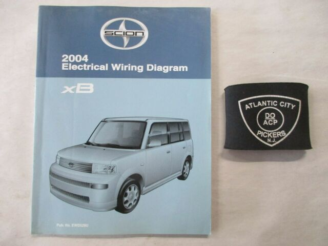 2004 Toyota Scion Xb Electrical Wiring Diagram Service
