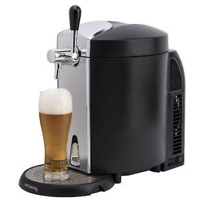 H-Koenig-BW1778-Beer-Tap-Dispenser-Cooler-5-Liters-Integrated-Cooling-System-NEW