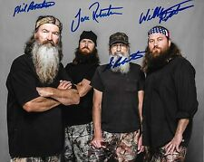Duck Dynasty Autographed 8x10 Photo Reprint