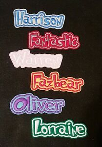 Personalised-Embroidered-Name-Patch-Badge-D1-Iron-on-sew-on