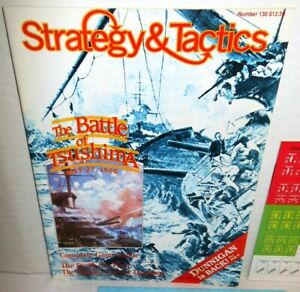 Strategy-amp-Tactics-Mag-w-Game-S-amp-T-130-Battle-of-Tsushima-1905-op-Fall-1989