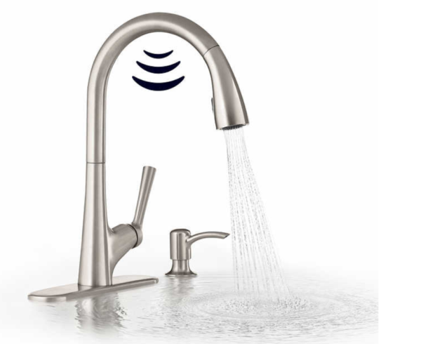 Kohler Malleco Touchless Pull Down Kitchen Faucet With