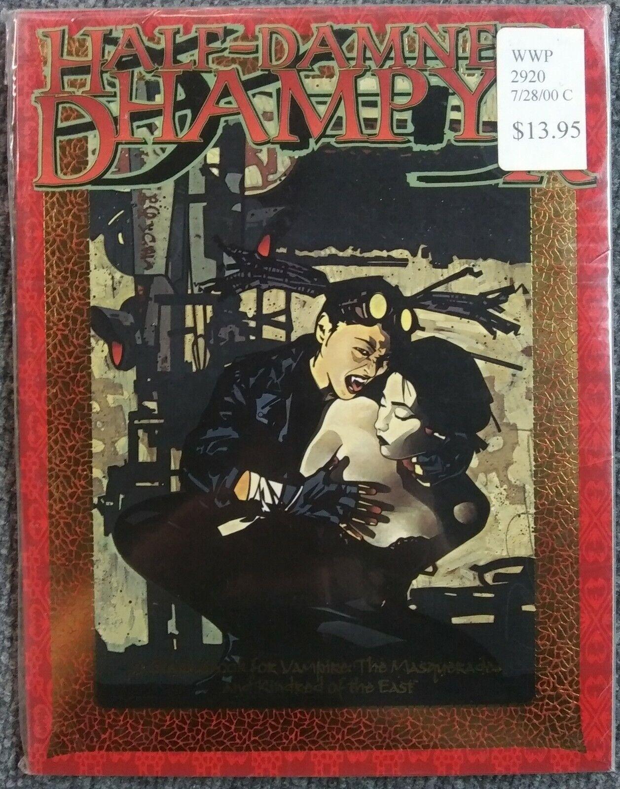 Half-Damned   Dhampyr - Vampire  The Masquerade RPG Sealed nuovo SC bianca Wolf  in vendita online
