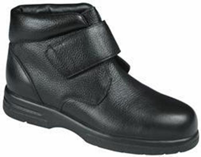 Drew Men's Big Easy Leather Boots Black
