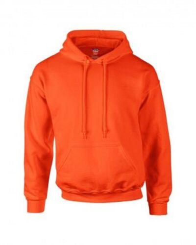 Gildan Men/'s Adult Dry Blend Plain Poly Cotton Hoodie Pullover Hooded Sweatshirt