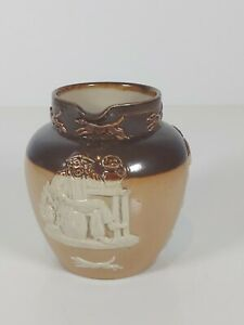 Royal-Doulton-Salt-Glaze-Jug-1857-Appr-3-5-034-9cm-H