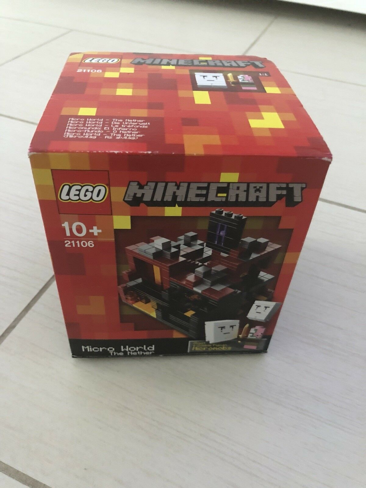 LEGO Minecraft The Nether 21106 New