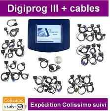 VALISE DIGIPROG 3 V4.94 + LOT DE CABLES - DIAGNOSTIQUE - REPROGRAMMATION OBD2