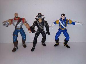 Vintage-1997-Classic-Zorro-Action-Figures-Lot-Evil-Ramon-Evil-Machete-and-Zorro