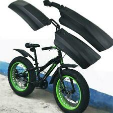 """Bicycle Bike Front Rear Mudguard Cycling Bike Fender For 20//26/"""" Tire Fat L5V3"""