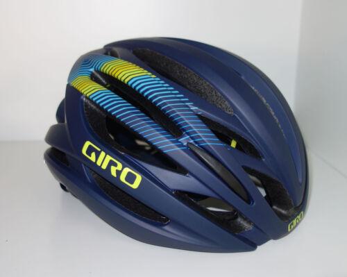 weiß und blau Größe M 55-59cm 200223 Giro SYNTAX Mips Fahrradhelm schwarz