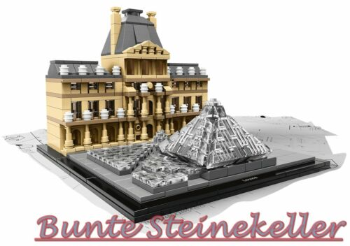 LEGO® Architecture 21024 Louvre /& 0.-€ Versand /& OVP /& NEU !
