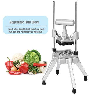 """3//8/"""" Blade Commercial Vegetable Fruit Dicer Onion Potato Tomato Slicer Chopper"""
