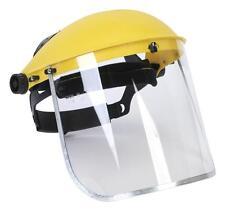 Careta Protección Ocular Máscara Guardia Seguridad Work Wear High Vis Visera Nuevo