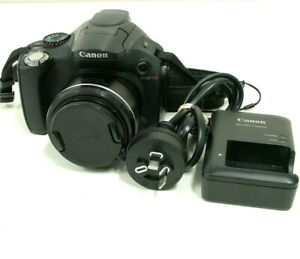Canon PowerShot SX40 HS 35x Zoom 12MP Digital Camera With Charger - Bids From $1