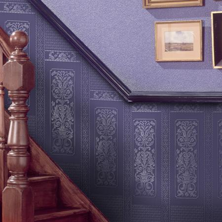 Paintable Wallpaper Paste The Wall Dado 10 Panels Per Roll Rococo Anaglypta
